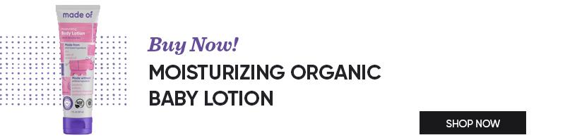 Moisturizing Organic Baby Lotion